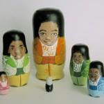 pop culture nesting dolls: Jackson Five