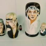 pop culture nesting dolls: Karate Kid