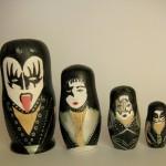 pop culture nesting dolls: Kiss