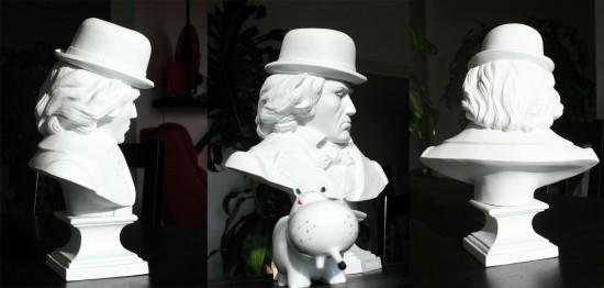 Ludwig Van porcelain by Frank Kozik x K. Olin Tribu