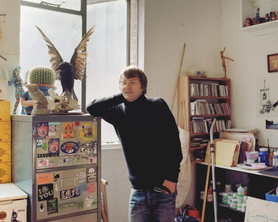 Pete Fowler's studio