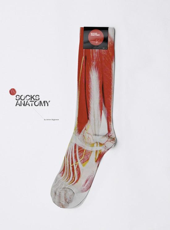 Anatomy Socks © Anton Repponen