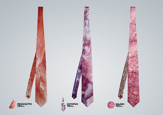 Meat Ties and Anatomy Socks by Anton Repponen