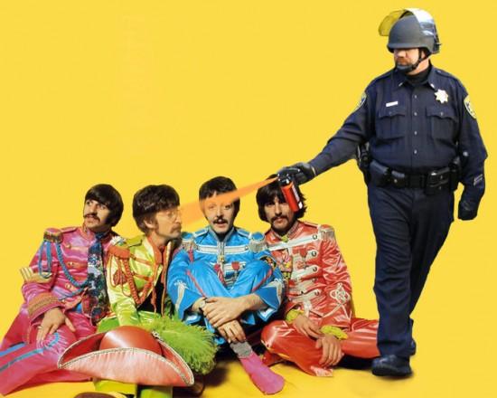 Casually Pepper Spray Everything Cop Meme: Sergeant Pepper Spray