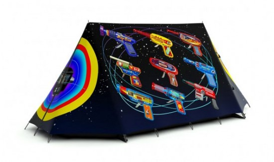 FieldCandy Tents: Rayguns Tent by Terry Pastor