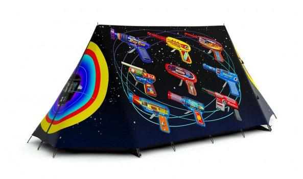 Rayguns Tent by Terry Pastor