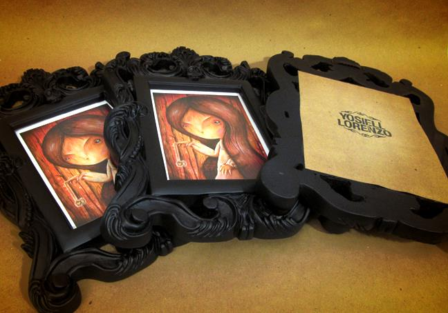 The Mistress framed giclee prints by Yosiell Lorenzo
