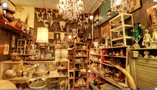 Uncommon Objects, Google street view