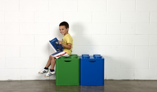 LECO Recycling Bins by Flusso Creative