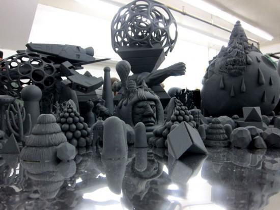 Mars-1 sculptures