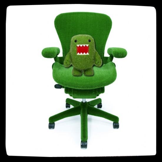 Astroturf Aeron Chair by Makoto Azuma