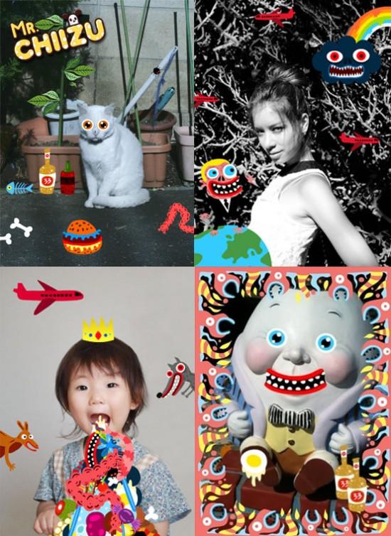 Mr Chiizu x SKWAK iPhone app