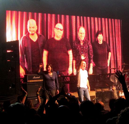 The Pixies Doolittle Tour in Napa, CA 11-20-11