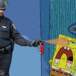 Casually Pepper Spray Spongebob