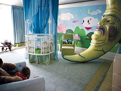 Christina Aguilera's Kid's Nursery by TADO