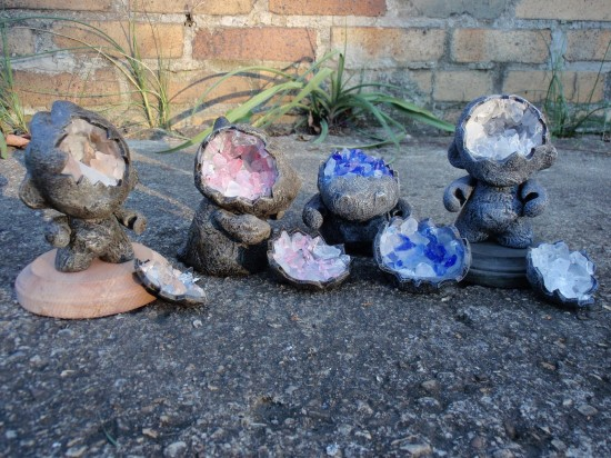 Geode Custom Munnys by Troy Stith