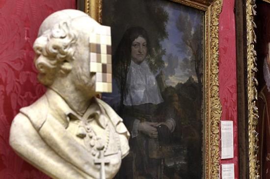 Banksy Cardinal Sin Walker Gallery