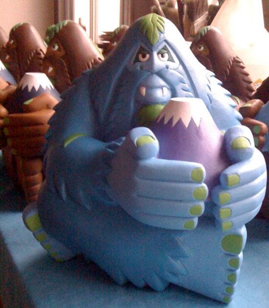Blue Bigfoot Fujisan