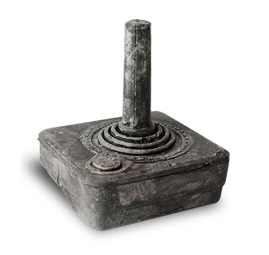 Atari Joystick from Future Fossils by Bughouse