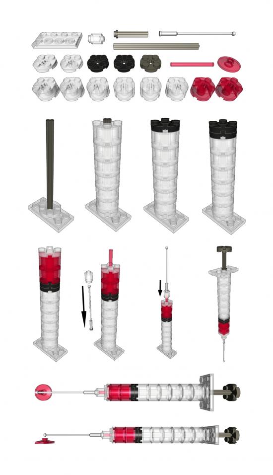 Lego Syringe Kit