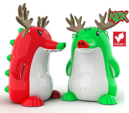 Heathrow the Holiday Hedgehog by Frank Kozik x MAQET