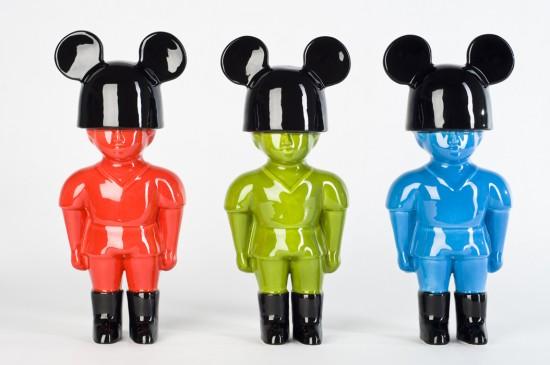 Neo-Pop Art RGB Soldiers by Quim Tarrida