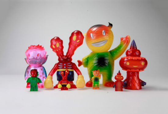 Toby Dutkiewicz made Super7 toys recreated in Lego