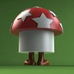 Funghi mushroom toys by TADO