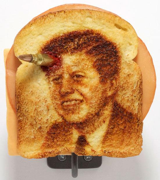 Assassination Sandwiches (John F. Kennedy) © Tibi Tibi Neuspiel