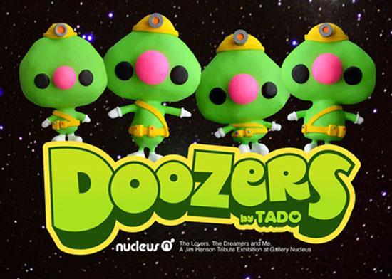 fraggle rock doozer toy by TADO