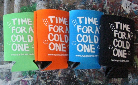 Beer Cozies by Ryan Bubnis