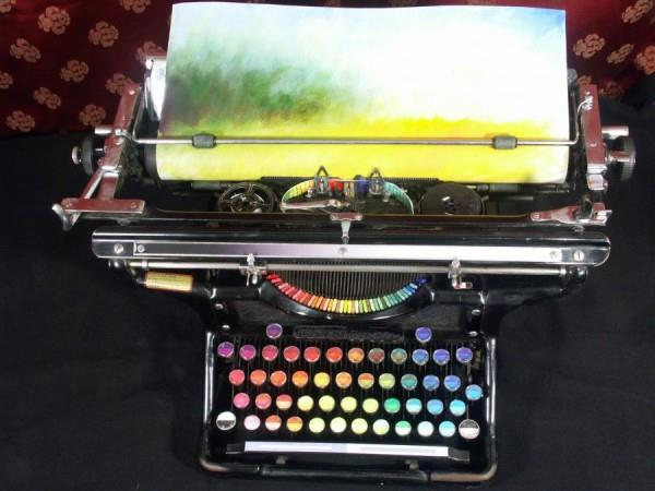 Chromatic Typewriter © Tyree Callahan