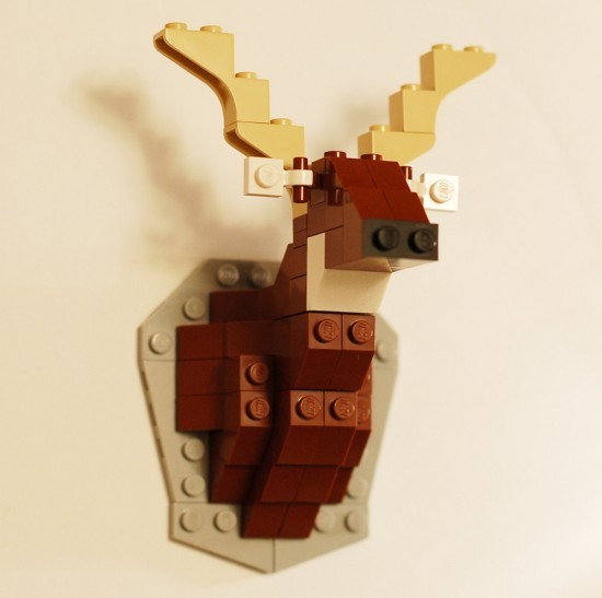 Lego Taxidermy Kits: Deer by David Cole