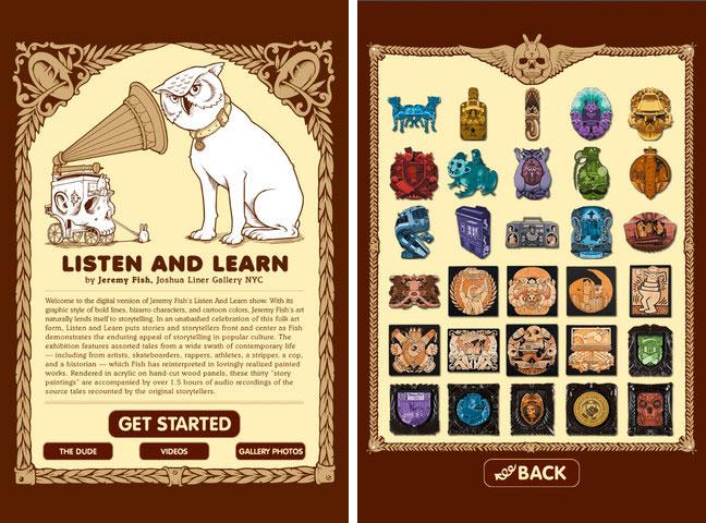 "Jeremy Fish's ""Listen and Learn"" iPhone app"