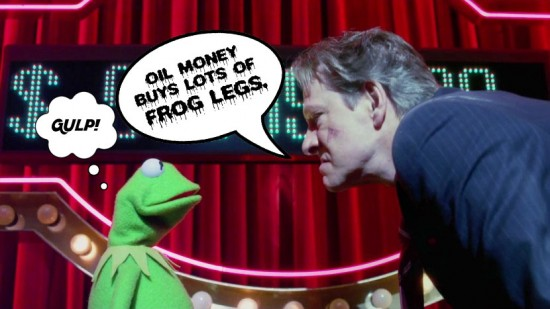 Kermit vs. Tex Richman