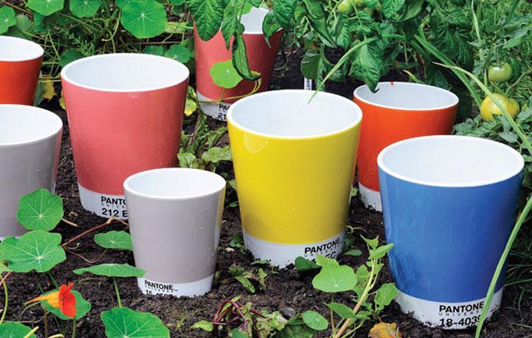 Pantone Flower Pots by Serax