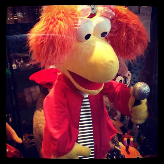 Red Fraggle at Open Mic Night