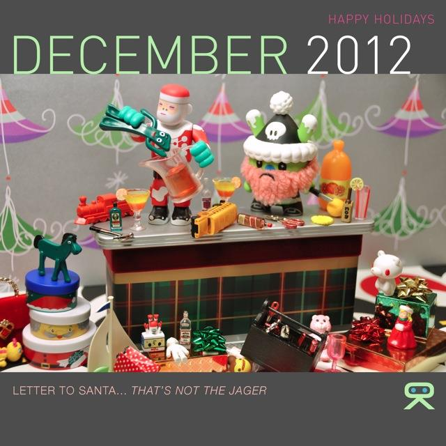 2012 Toy Calendar by Ryan Roberts