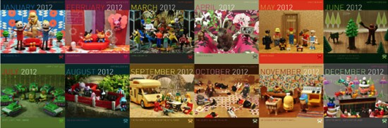 2012 Toy a Day Calendar by Ryan Roberts
