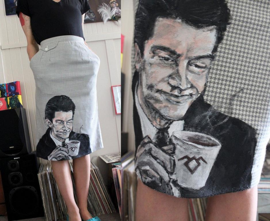 Twin Peaks Agent Cooper Skirt by Mariel