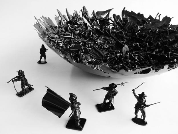 War Bowl by Dominic Wilcox