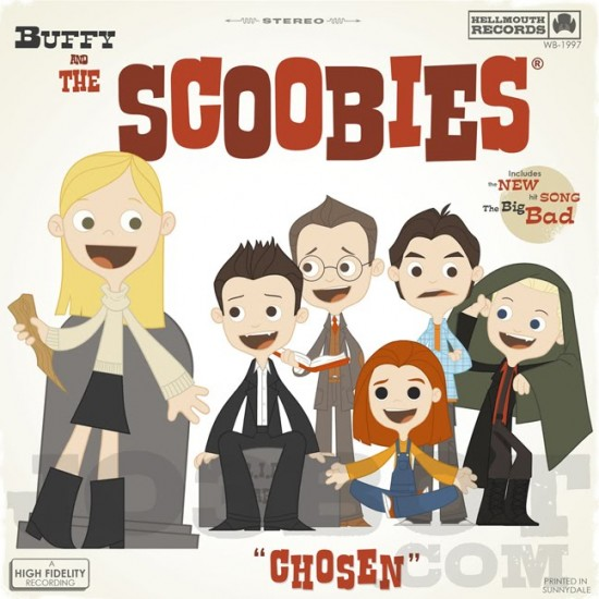 Buffy and the Scoobies by Joey Spiotto