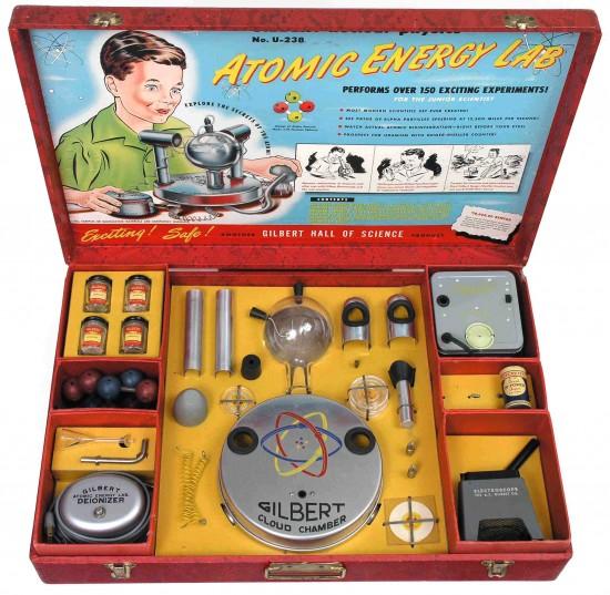 Atomic Toys: Gilbert Atomic Energy Lab (1950-1951)