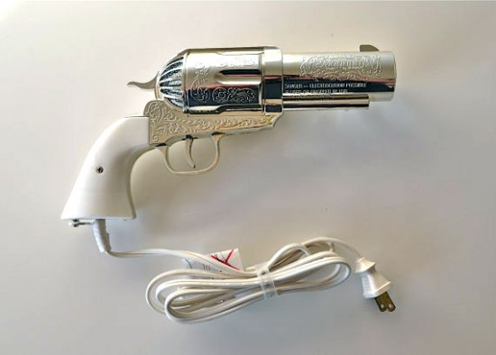 The 357 Magnum Gun Hair Dryer by Jerdon industries 1981