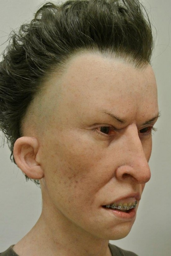 Hyper Realistic Beavis and Butthead Prosthetics by Kevin Kirkpatrick