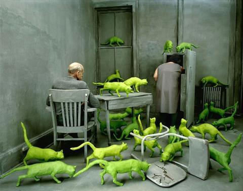 Radioactive Cats © Sandy Skoglund