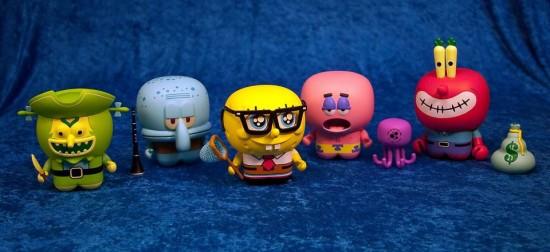 UNKL Spongebob toys