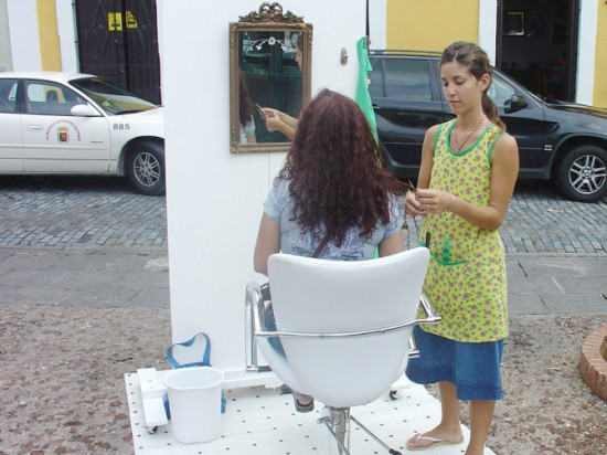 Hair Art: Mobile Hairdresser by Agustina Woodgate