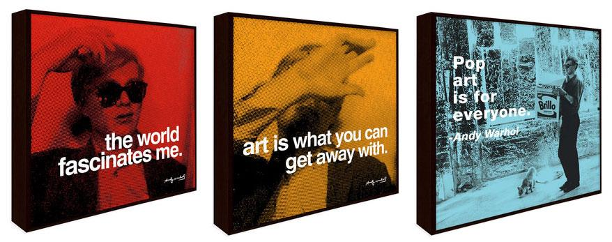 Wisdom of Andy Warhol