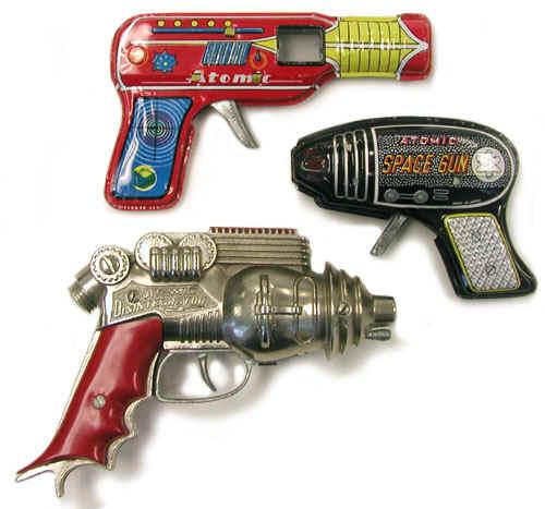 Atomic Toys: Atomic Toy Guns (1950s-1960s)